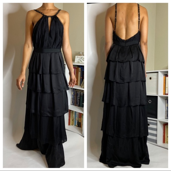 BCBGMaxAzria Dresses & Skirts - BCBGMAXAZRIA Black Gown